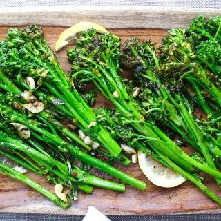 Broccoli Rapini with Garlic and Lemon
