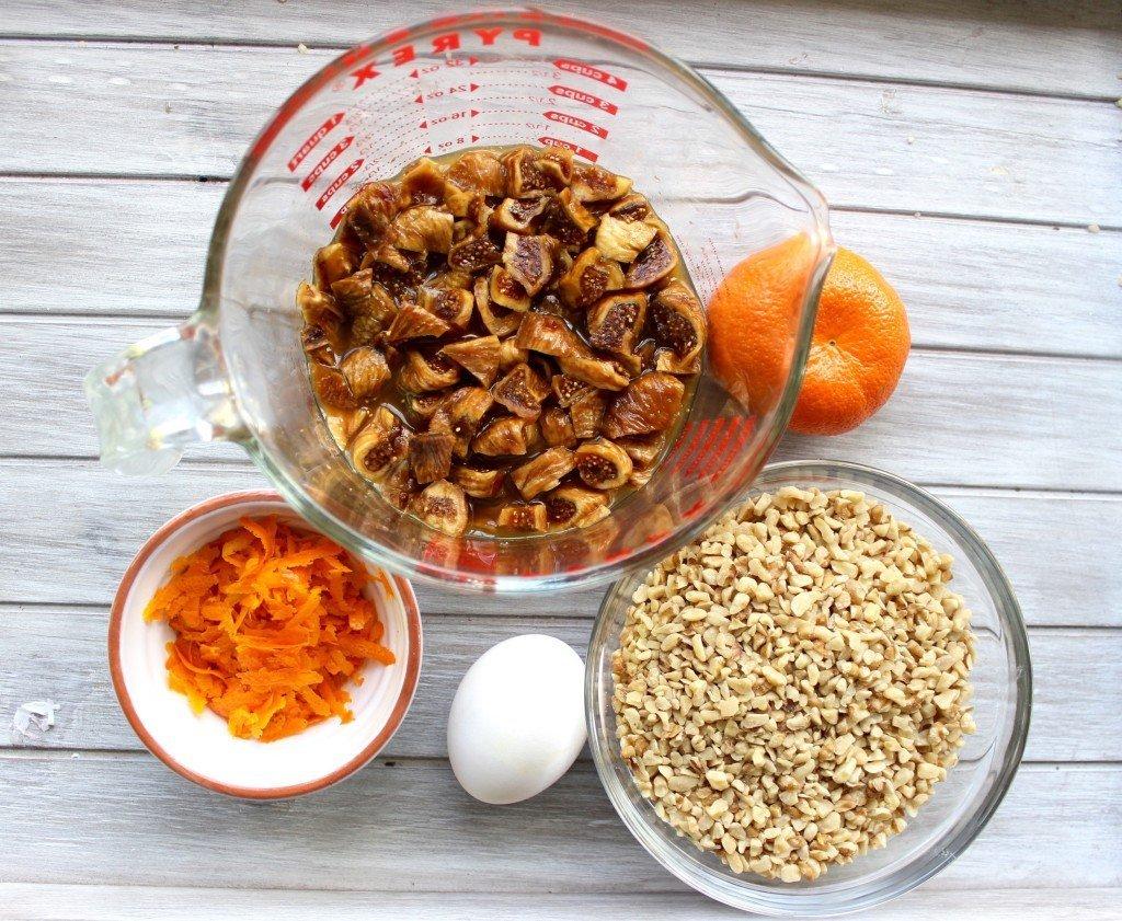 F Orange Fig Walnut bread ingredients