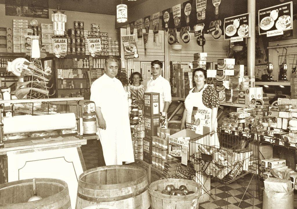 Grandma and Grandpa Cipolla store