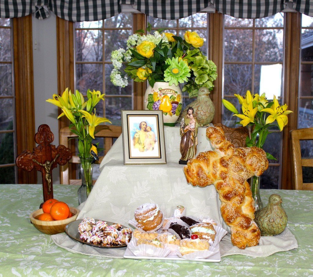 St. Jospeh's Day Table