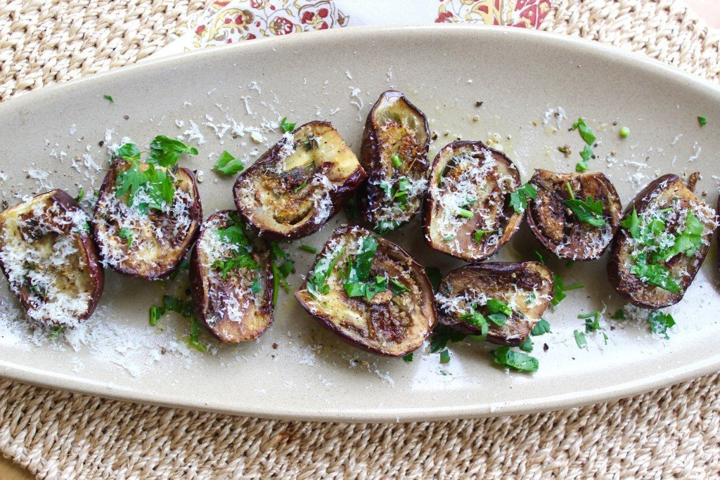 These Baby Eggplant Are Delightful Vegetables And Wonderful As A Side Dish Or Appetizer We Like To Scoop The Insides Use Er Hummus On