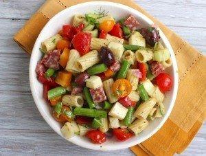 Pasta Salad Serving