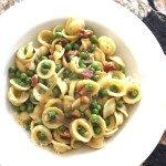 Pea & Pancetta Orecchiette Pasta