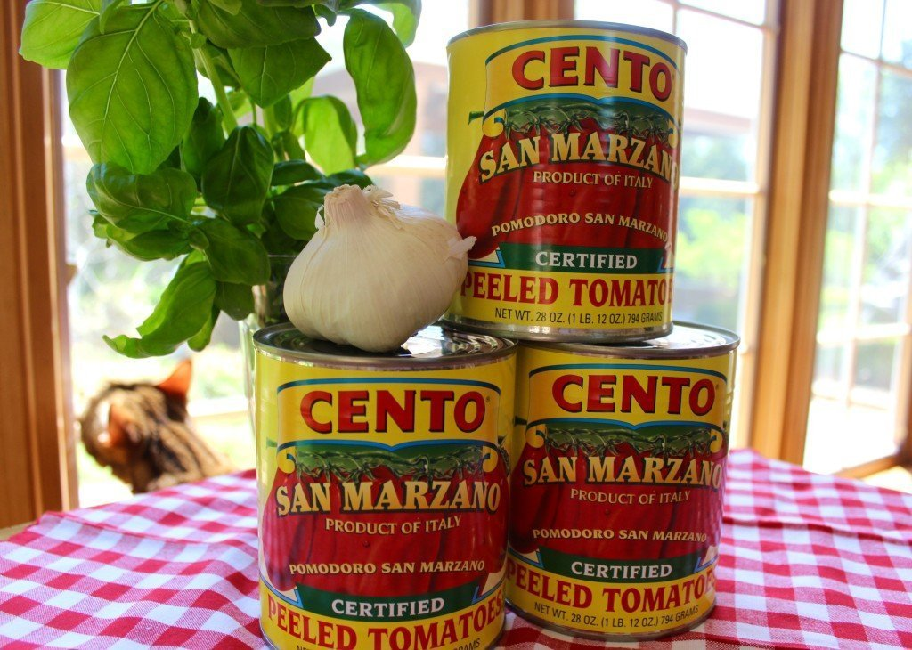 San Marzano canned tomatoes