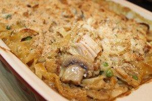 Chicken Tetrazzini with Marsala