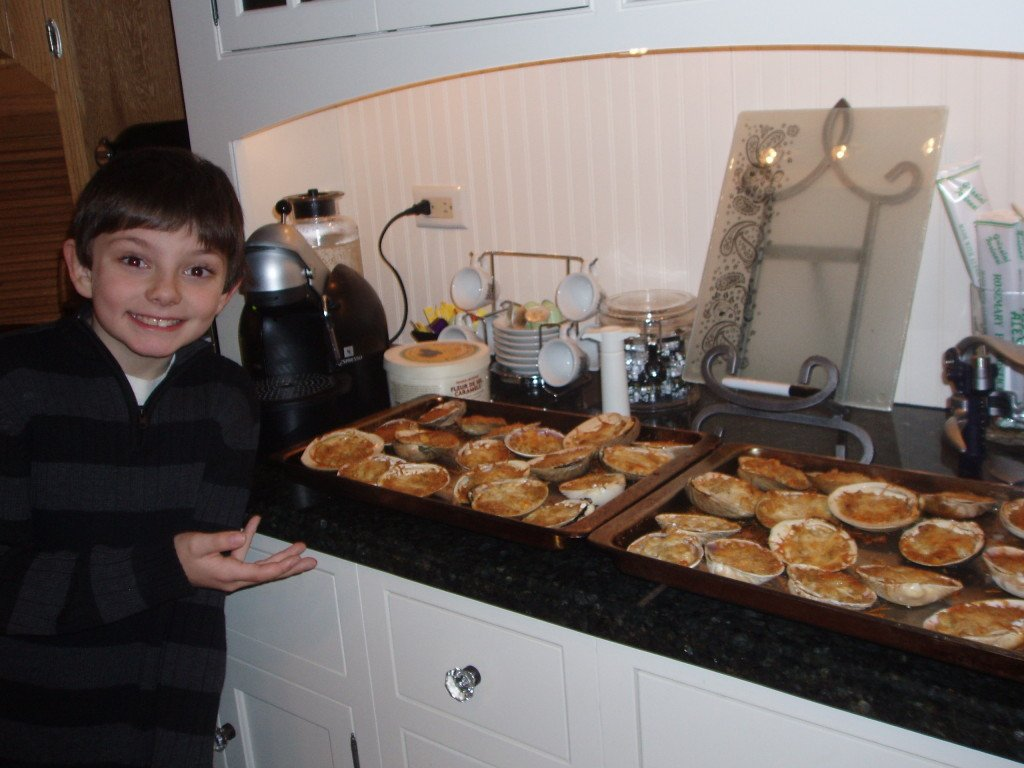 Tony Christmas Eve Baked Clams