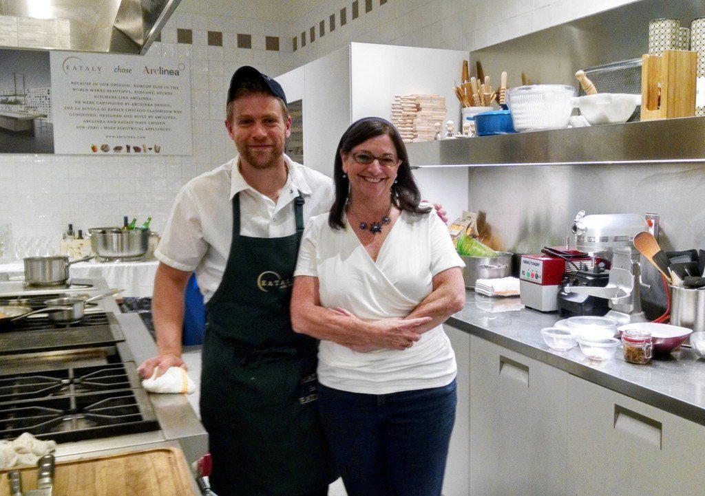 Chef Adam Weisell and Cara Eataly