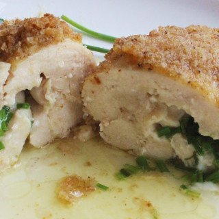 Chicken Kiev with Parmesan