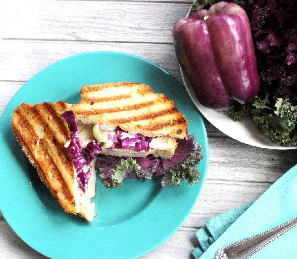 Purple panini