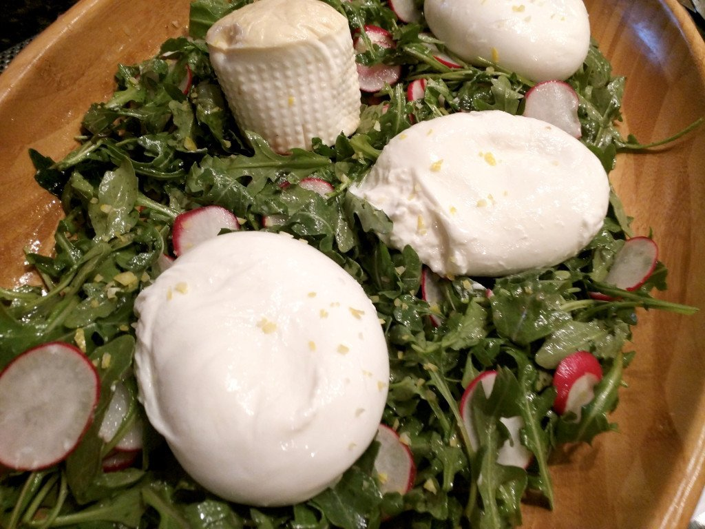 burrata closeup from vesna
