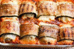 Baked Zucchini Rollatini