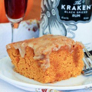 Amazing Two-Ingredient Pumpkin Cake
