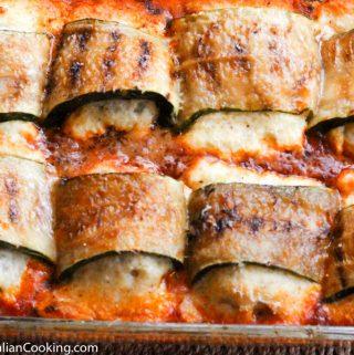 Bakes Zucchini Rollups