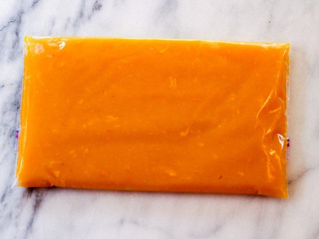 pumkin puree for freezer