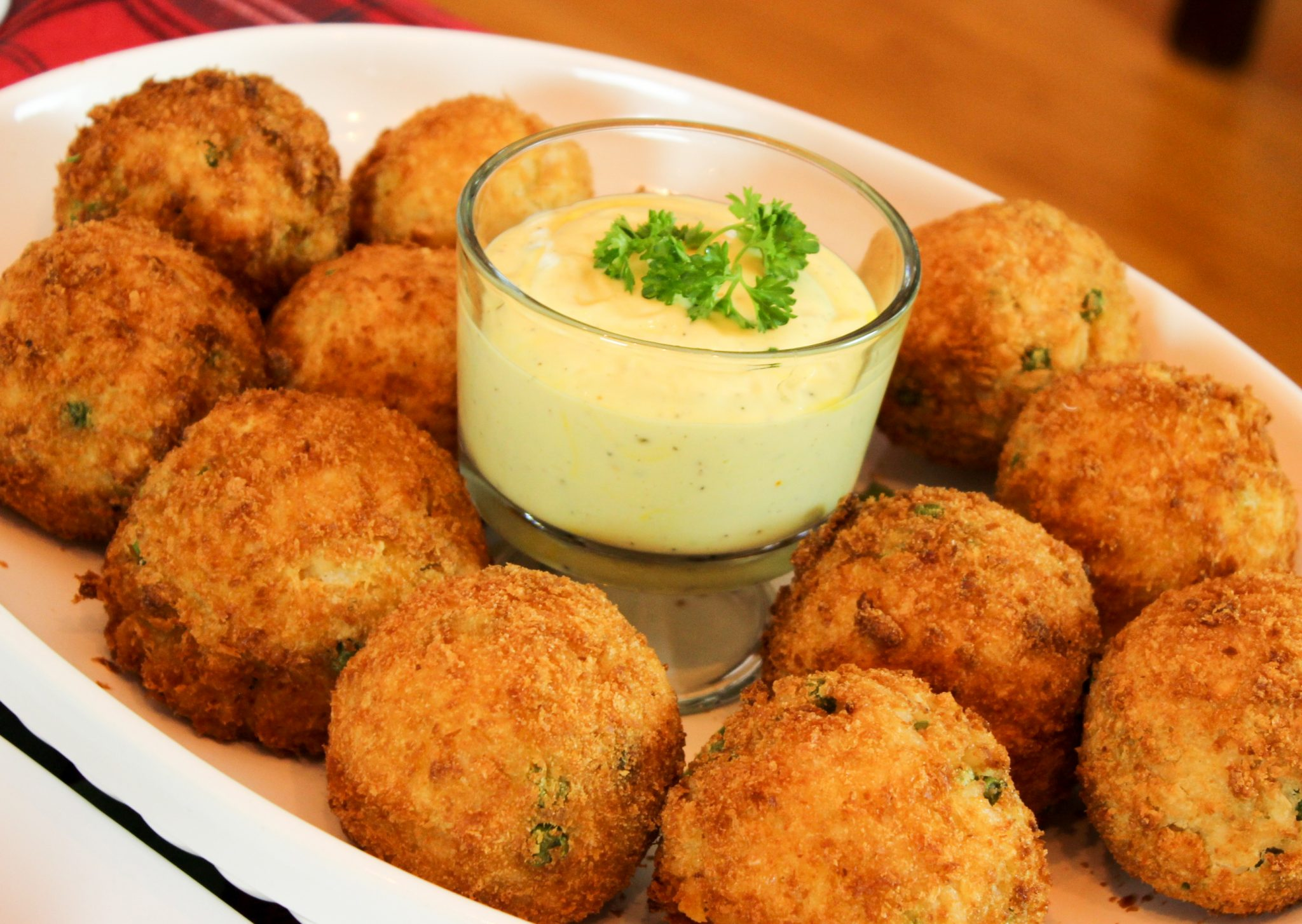 Feast of the Seven Fishes: Lobster Arancini with Saffron Aioli Sauce – Homemade Italian Cooking