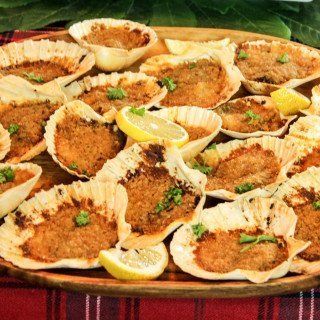 Feast of the Seven Fishes: Baked Clams Italian Style