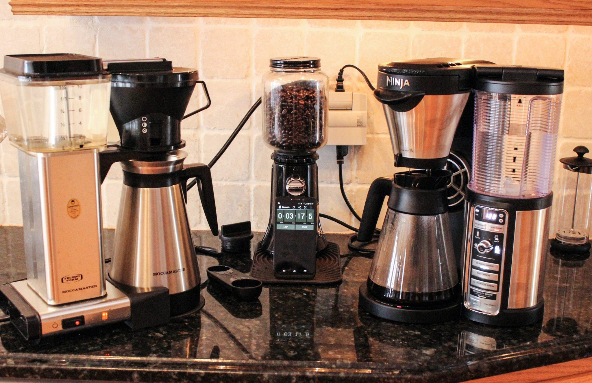 The Best Coffee Makers Ninja Coffee Bar Brewer Nespresso