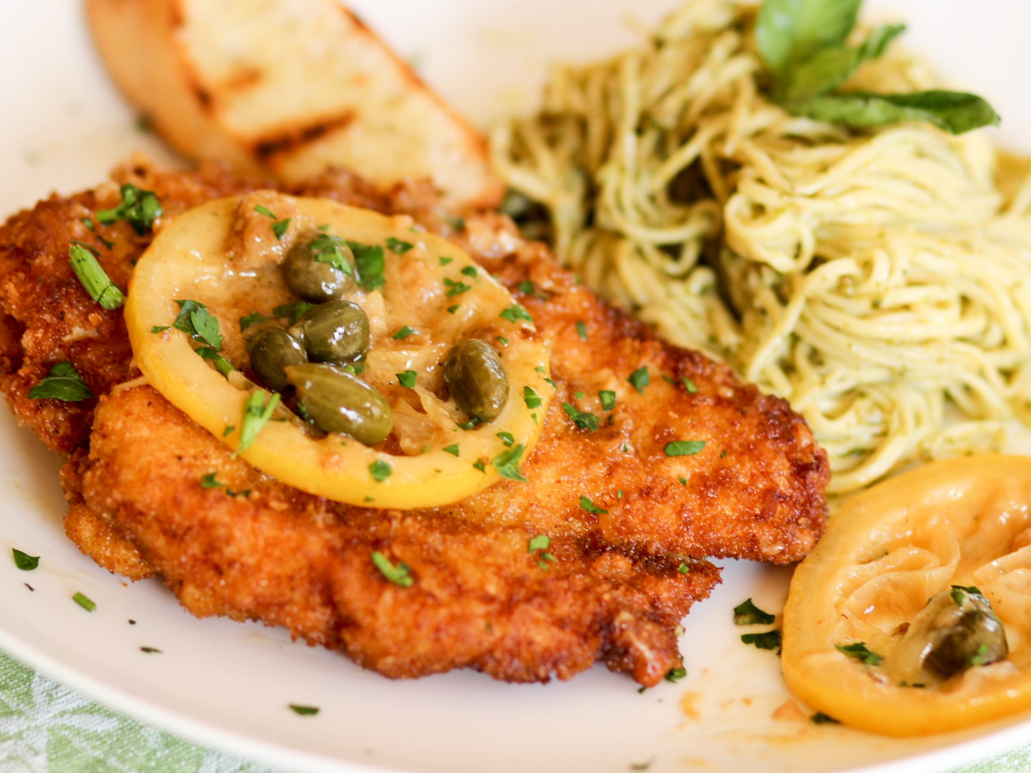 Chicken Piccata Is Simply Divine And Easy To Make At Home Too! Once You  Learn To Make Juicy, Fried Chicken Cutlets, The Sauce Options Are Endless
