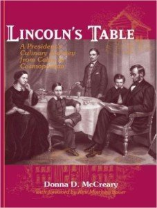 Lincoln's Table Cookbook