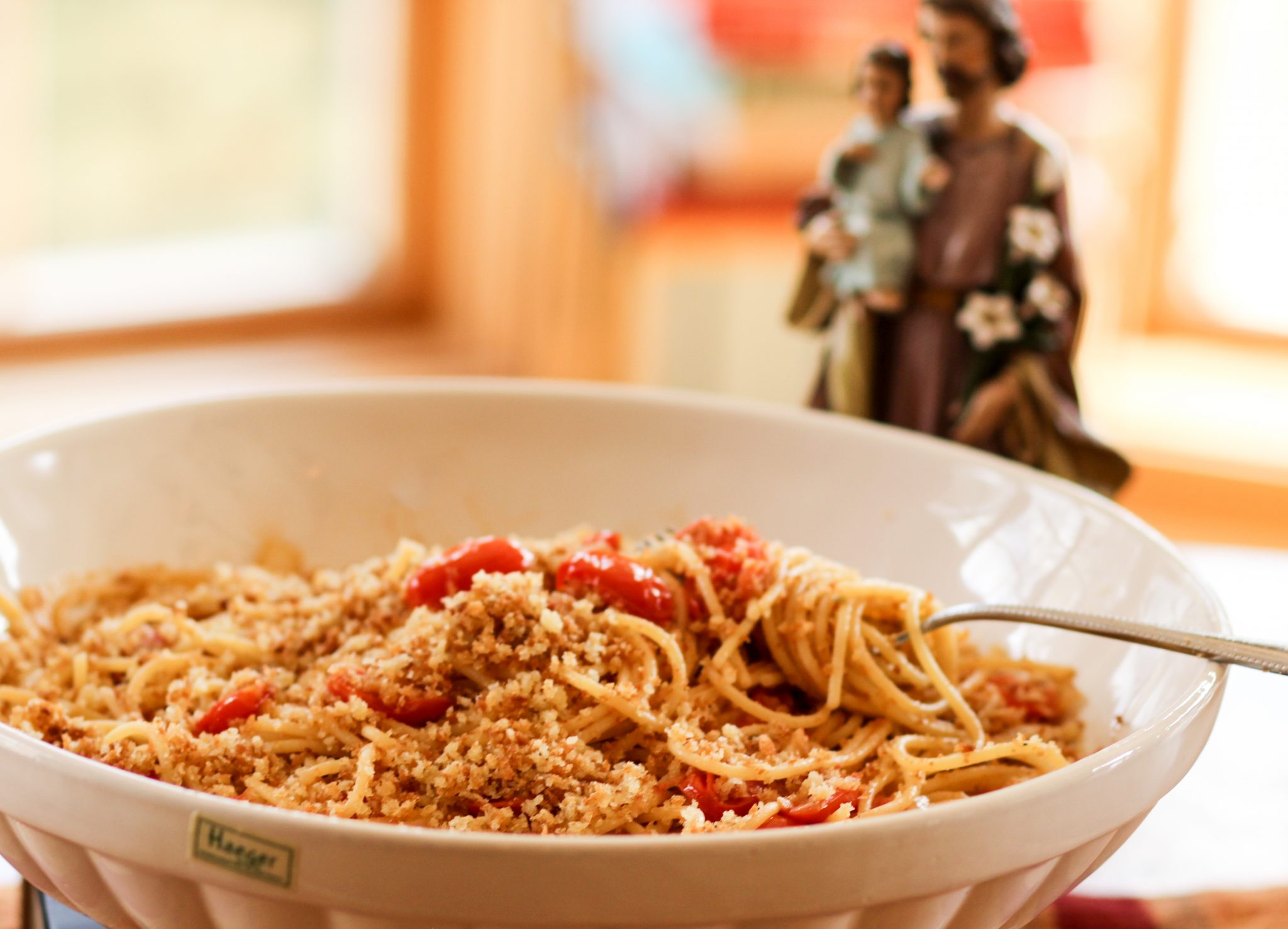 St Joseph's Day pasta