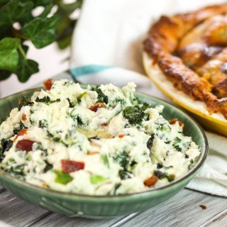 Colcannon with Kale & Bacon