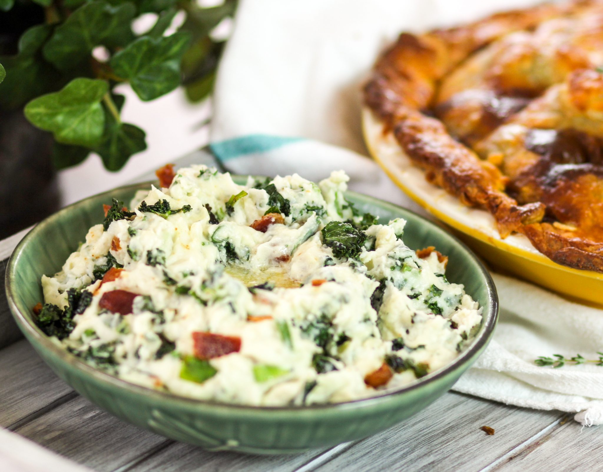 Irish Colcannon Mashed Potatoes With Kale Bacon Homemade