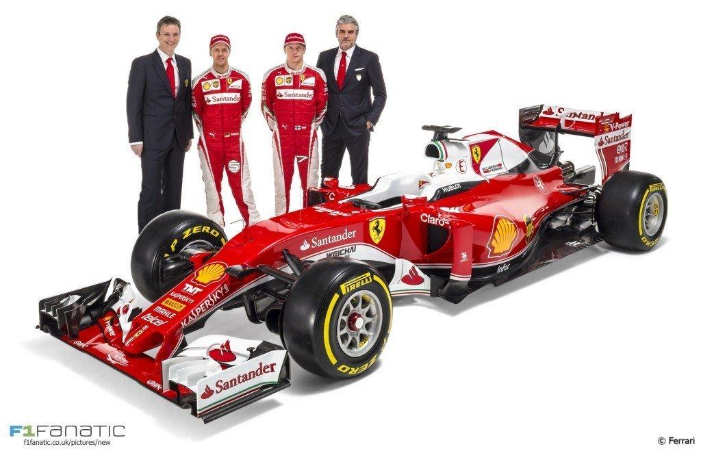 Scuerdia Ferrari and Vettel