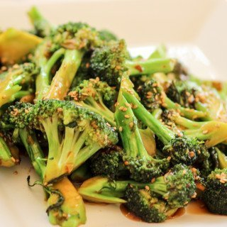 Garlic Sesame Broccoli