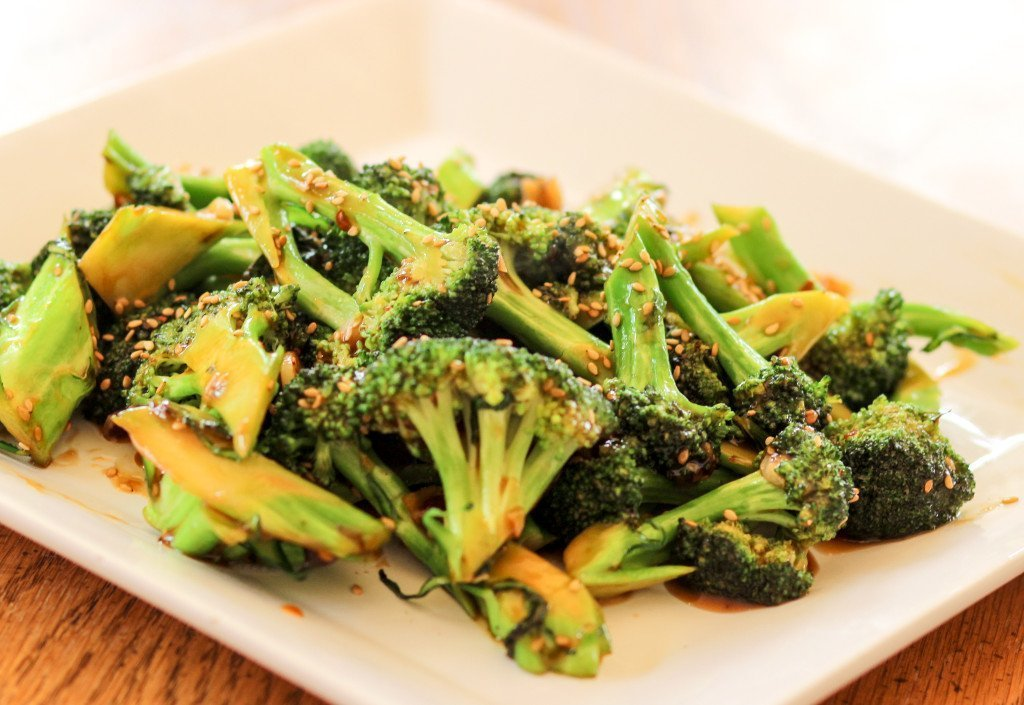 Garlic Sesame Broccoli Stir Fry • Homemade Italian Cooking