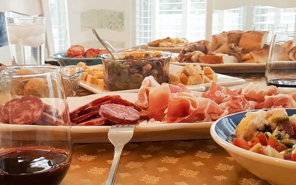 olives salami Neighborhood restaurant
