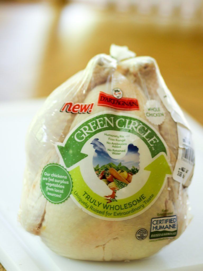 Green Circle Chicken D'artagnan