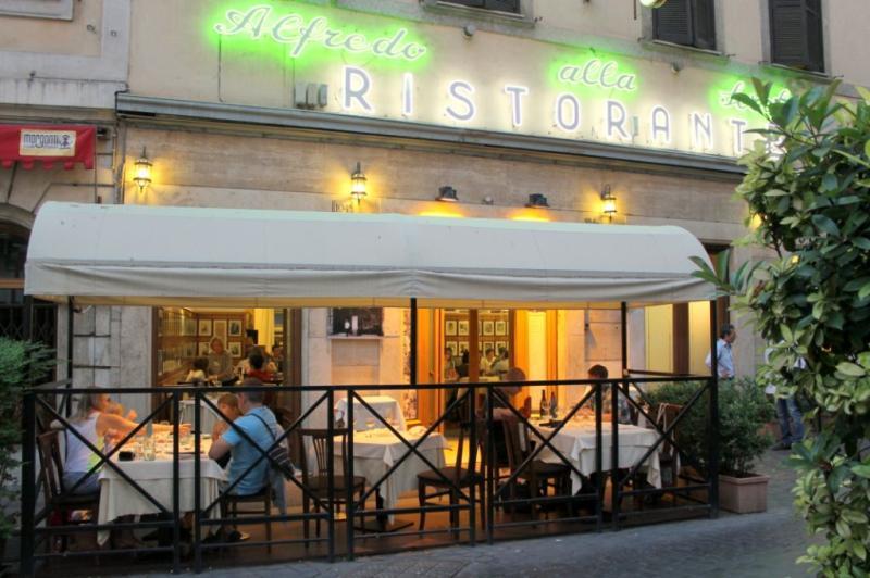 Alfredo's in Rome