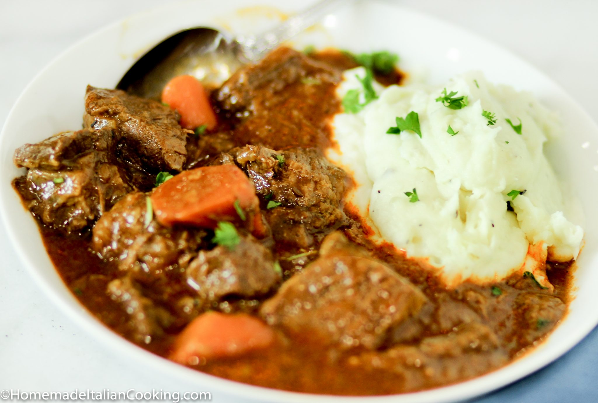 Hungarian Beef Goulash Homemade Italian Cooking