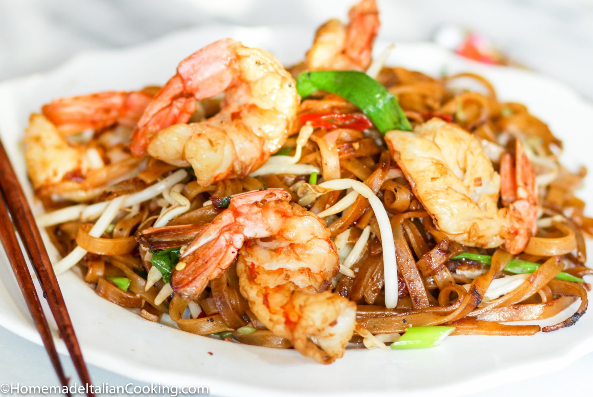 Char Kway Teow (Malaysian Noodles with Shrimp) – Homemade ...