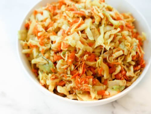 Yellow Coleslaw