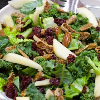 Kale Salad with Fig, Pear, Pecans and a Cherry Balsamic Vinaigrette ...