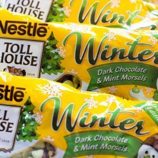 Time to buy Limited Edition Nestle's Dark Chocolate & Mint Morsels
