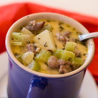 Italian Sausage, Clam and Potato Chowder