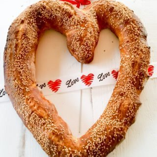 Italian Love Bread – Crusty Baguette for Valentine's Day