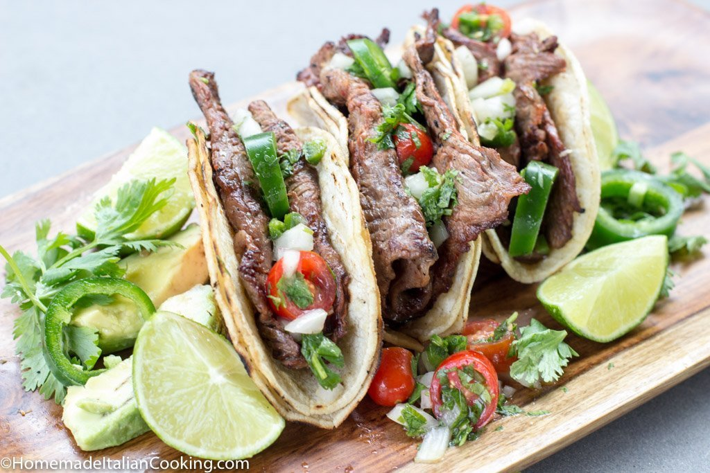 how to make steak tacos like mexican restaurants