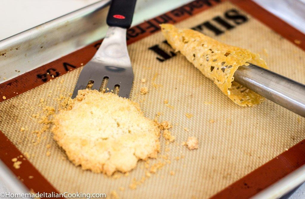 Crispy Parmesan Rolls