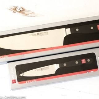 GIVEAWAY! Win a WÜSTHOF Uber Cook's 8″ Knife and Extra-Wide 4″ Paring Knife (Value $200) – Closed