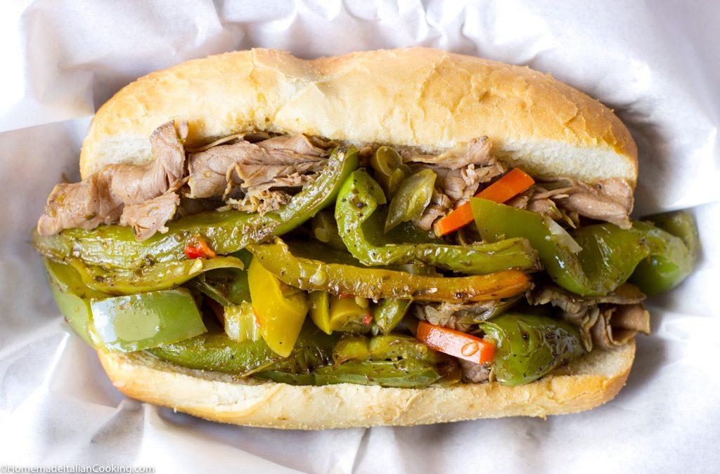 kookers Beef Sandwich
