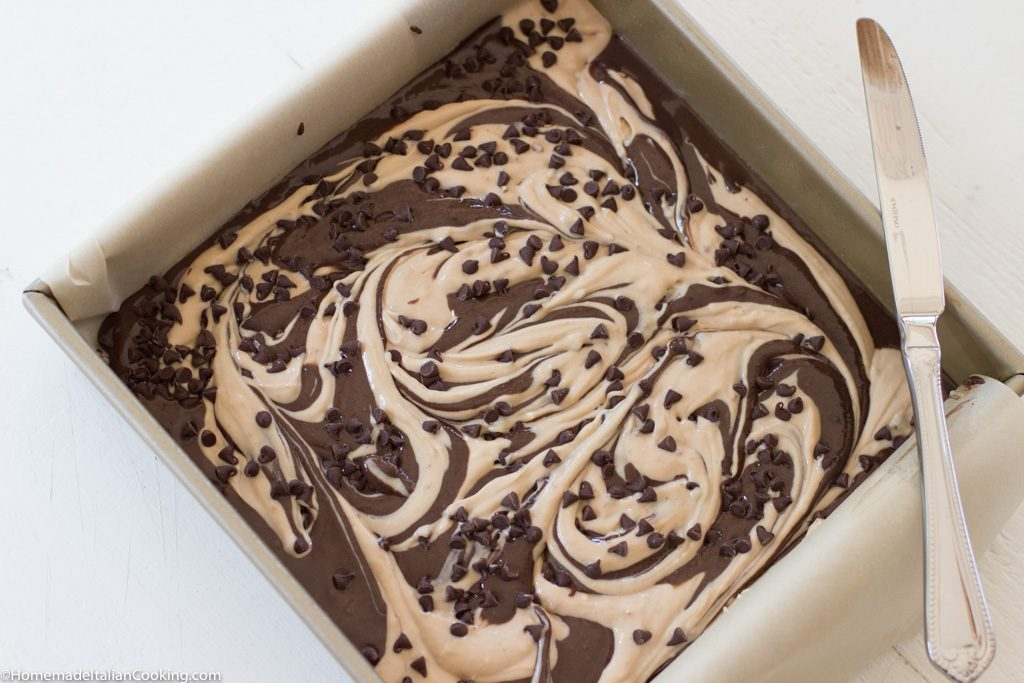 Fudgy Cappuccino Brownies