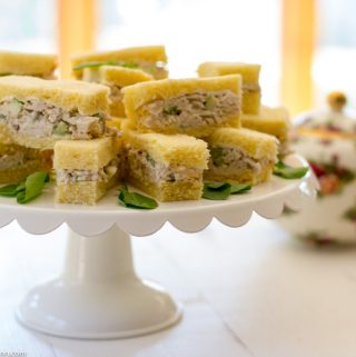 Secret to Making The Best Chicken Salad Finger Sandwiches