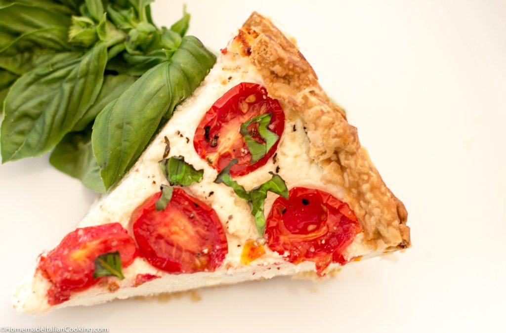 Tomato Ricotta Pie