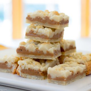 Biscoff Shortbread Bar
