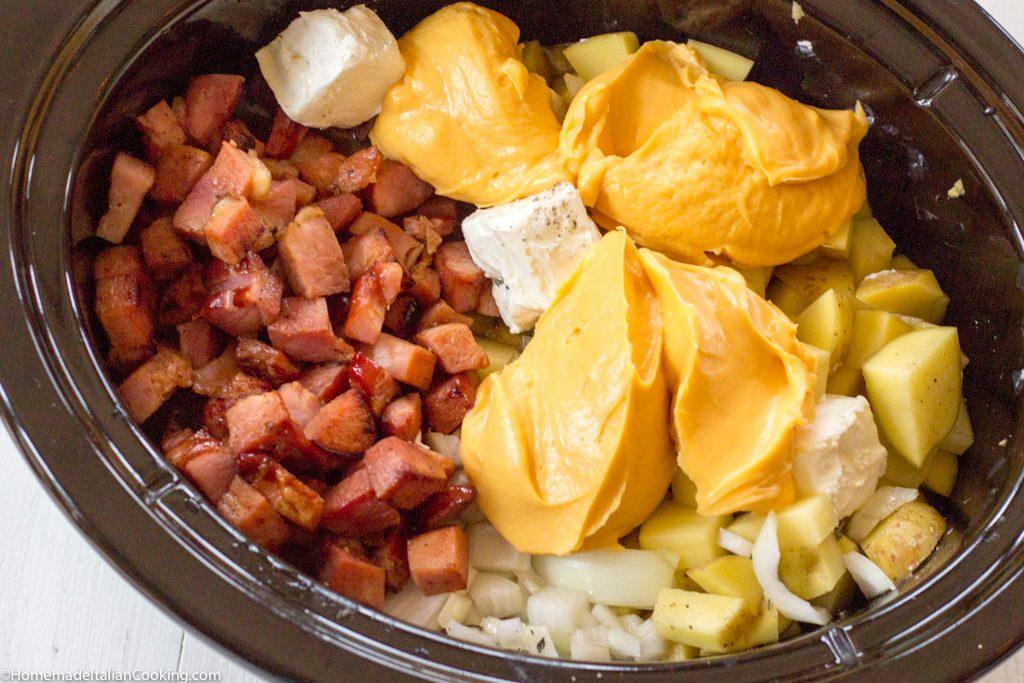 Ham Potato Cheese Chowder