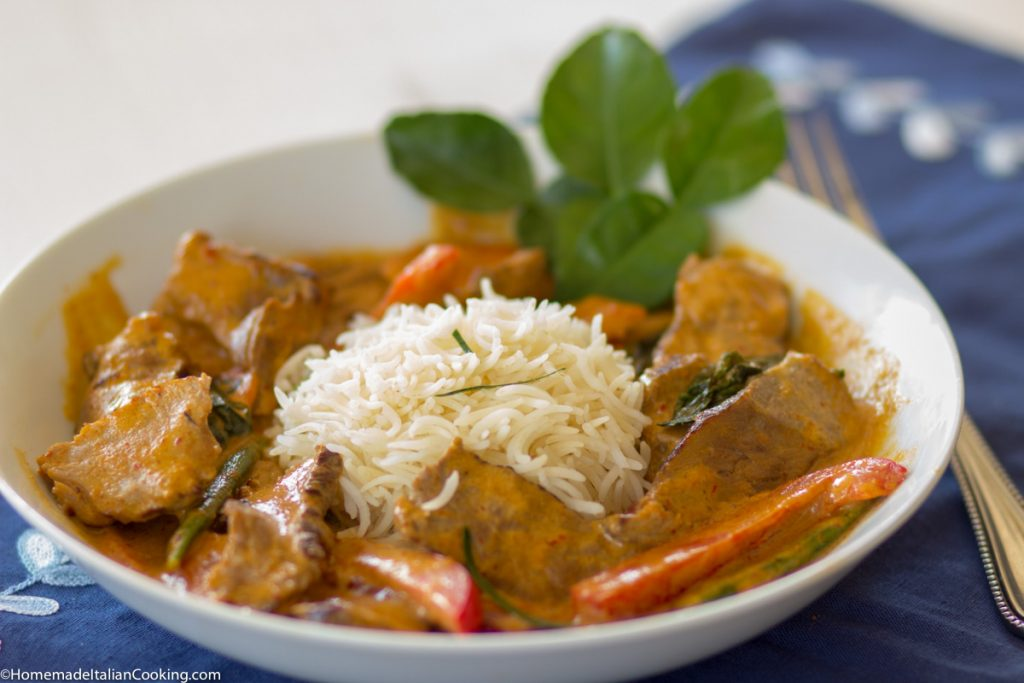 Beef Panag Curry