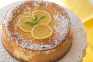 Lemon Ricotta Cheescake